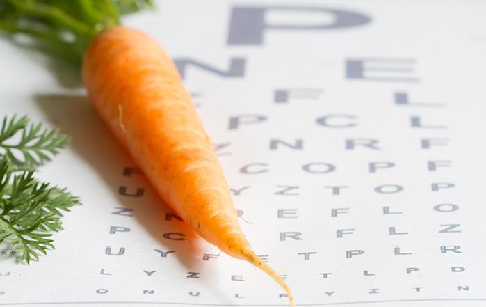 Dagens fråga: Får man bättre syn om man äter morötter?
